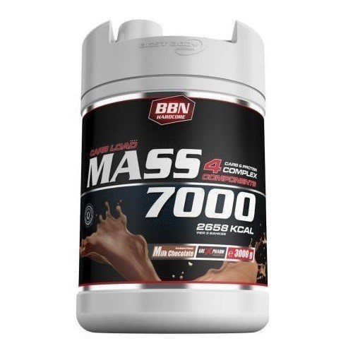 Best Body Nutrition Hardcore Mass 7000, 3kg Dose