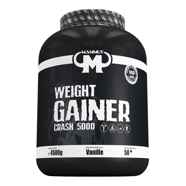 Mammut Weight Gainer Crash 5000 (4500g Dose)