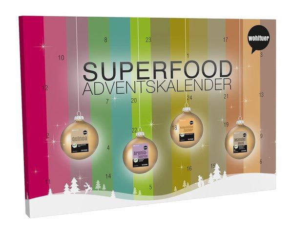 Superfood Adventskalender von Wohltuer , 1er Pack (1 x 760 g)