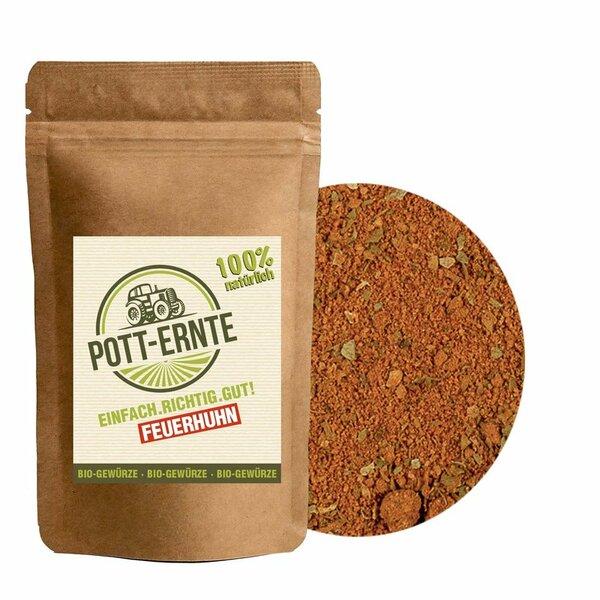 Pott-Ernte Bio Feuerhuhn 100g