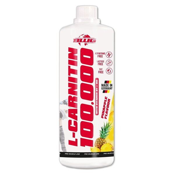 BWG L-Carnitin 100.000mg, 1 Liter (rote Flasche)