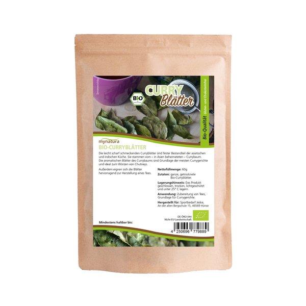 Mynatura Bio Curryblätter getrocknet 60g Beutel