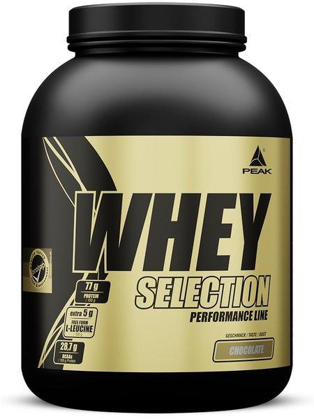Peak Whey Eiweiß Casein Protein Selection 1,8kg Dose