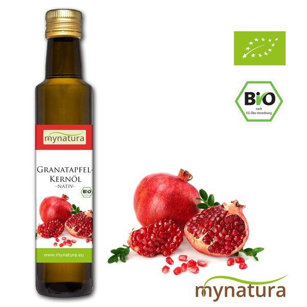 Mynatura Bio Granatapfelkern-Öl Granatapfel Pflanzenöl Naturkosmetik