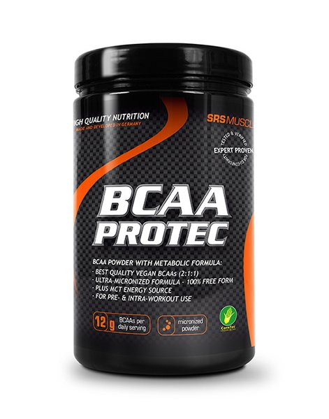 SRS BCAA Protec Aminosäure Fitness 414 g Dose