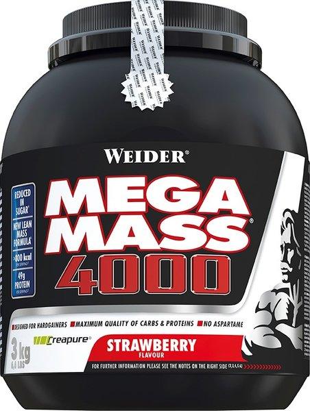 Weider Mega Mass 4000 3000g Dose