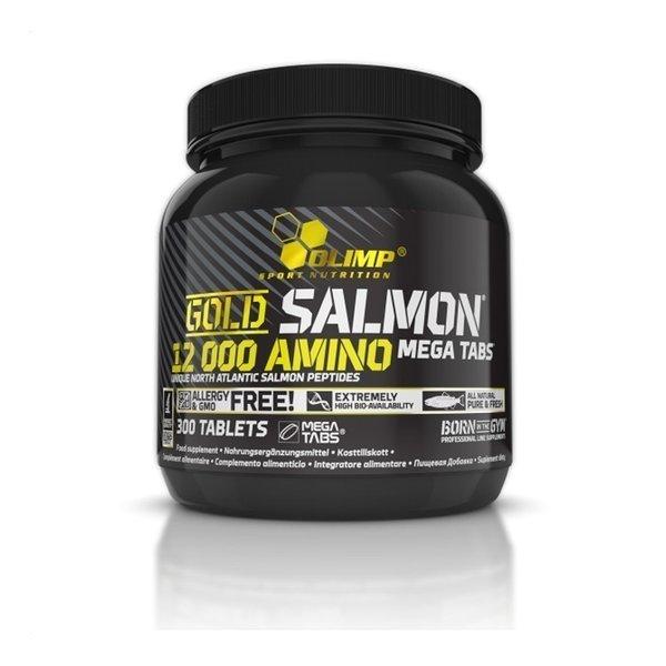 Olimp Gold Salmon 12000 Amino Mega Tabs 300 Tabletten