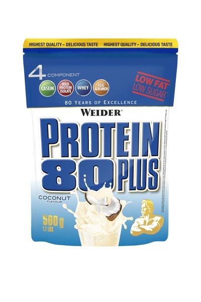 Weider Protein 80 Plus | Whey-Egg-Eiweiß | (500g Beutel)