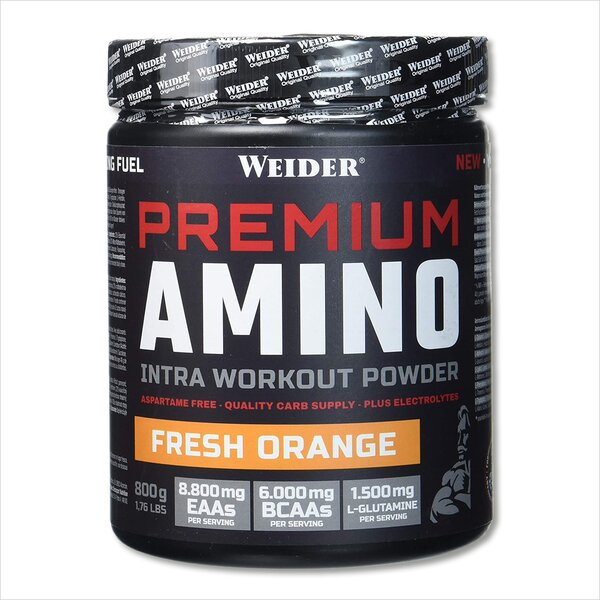 Weider Premium Amino Powder 800g Dose