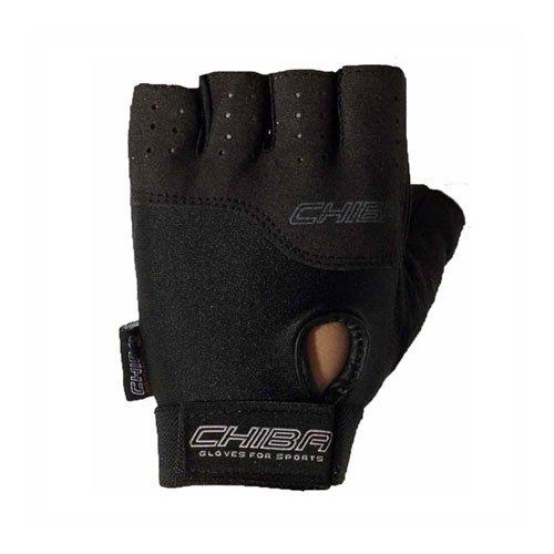 Chiba Handschuh POWER Glove 40400 Schwarz (Fitness Trainingshandschuh)