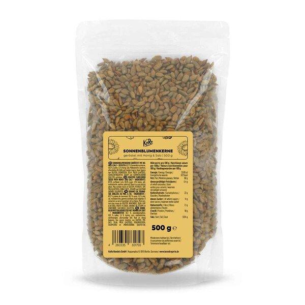 KoRo Süße Sonnenblumenkerne mit Honig 500 g