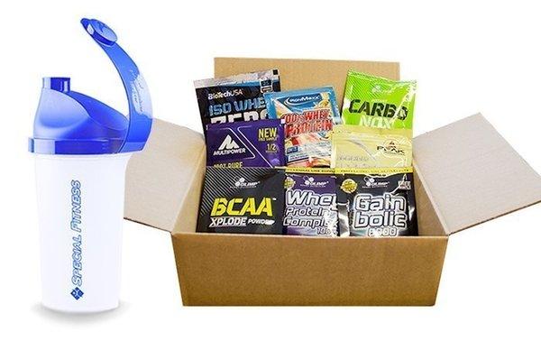 Samplebox 10 Proben + Shaker