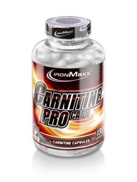 Ironmaxx L-Carnitin PRO Kapseln, 130 Kapseln
