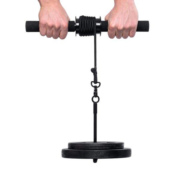Bodyworks Profi Wrist Roller-Handgelenk- & Unterarmtrainer Griffkrafttrainer