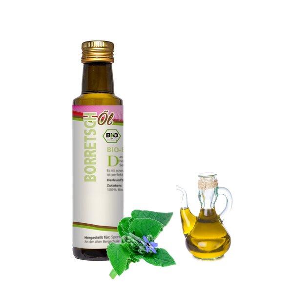 Mynatura Bio Borretschöl Nativ gepresst 250ml