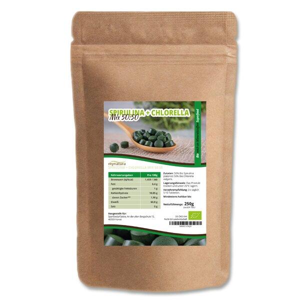 Mynatura Spirulina + Chlorella 50:50 MIx Bio