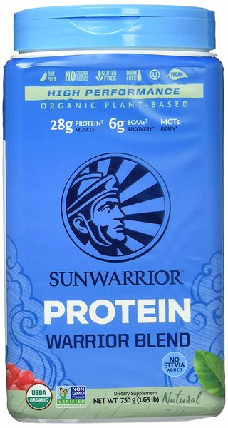 Sunwarrior Warrior Blend Natural, 750 g