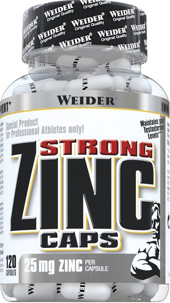 Weider Zinc Strong 120 Kapseln