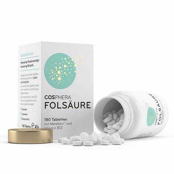 Cosphera Folsäure 180 Tabletten