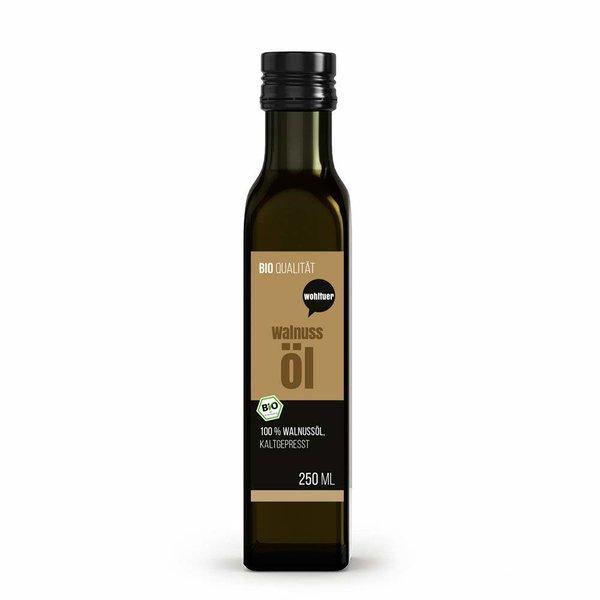 Wohltuer Bio Walnussöl kaltgepresst nährstoffreiches 250ml